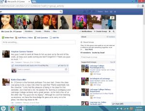 facebook group - oconnor